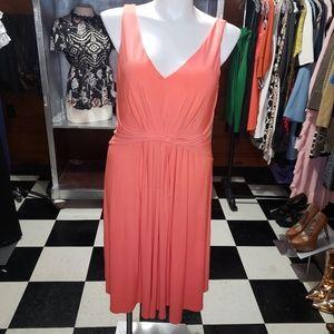Tahari XL Coral Dress